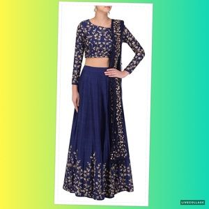 New Un-Stitched Lehenga Choli